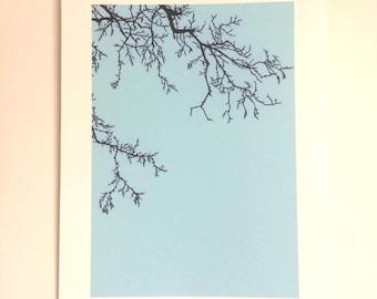 Winter Tree - Print from original papercut A4