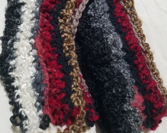 Spicy ~ Warm and Cozy Textured Soft Scarf