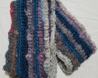 Fun ~ Warm and Cozy Textured Soft Scarf