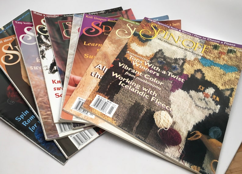 Used Spin Off Magazines Sold  individually