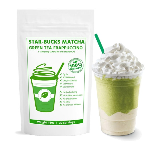STARBUCKS Comparable Japanese Matcha Green Tea Powder