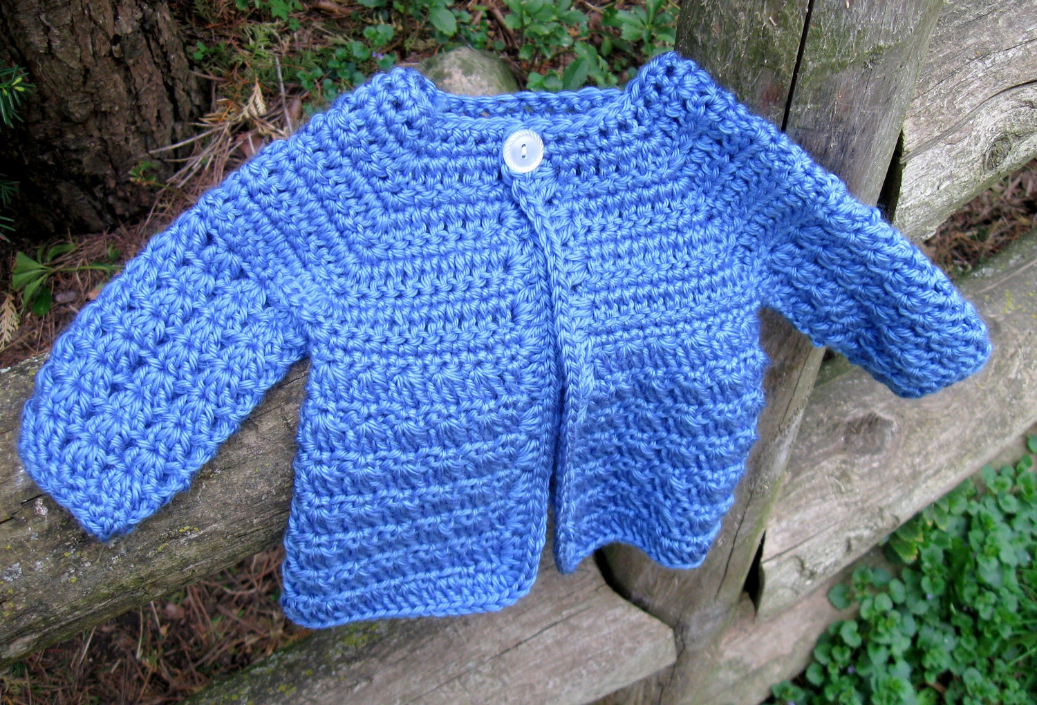 Baby Boy Crochet Sweater Pattern Download Instantly Robs Etsy