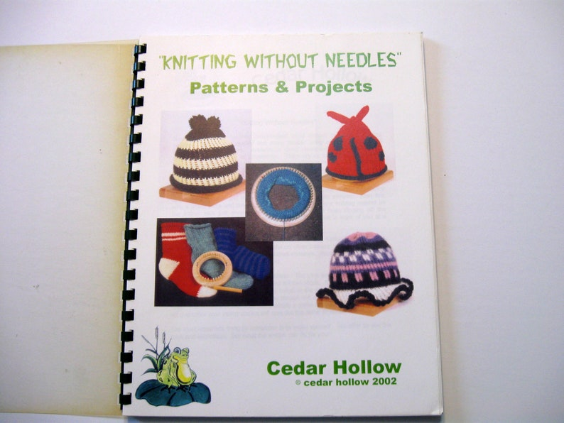 Afghan Patterns and Projects Hats Shawl Sock Bunny Pattern Knitting without Needles Loom Knitting Book Headband