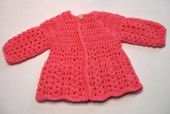Crochet Baby Sweater Pattern Baby Sweaters Download Etsy
