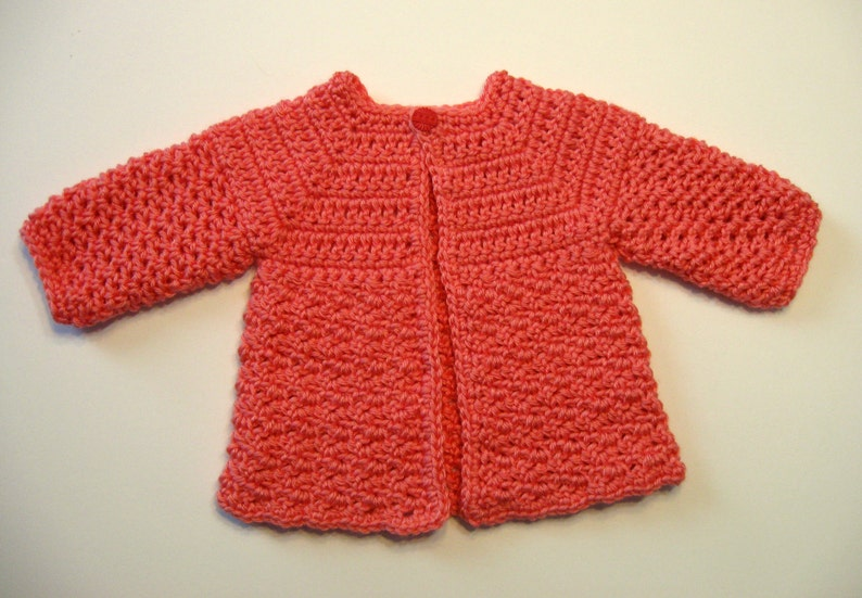 e1d334afd Baby Sweater Pattern Download Instantly Strawberry Digital