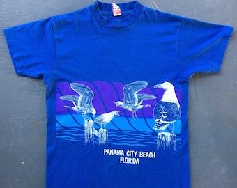 Panama City Beach 1980s vintage tee shirt - size medium