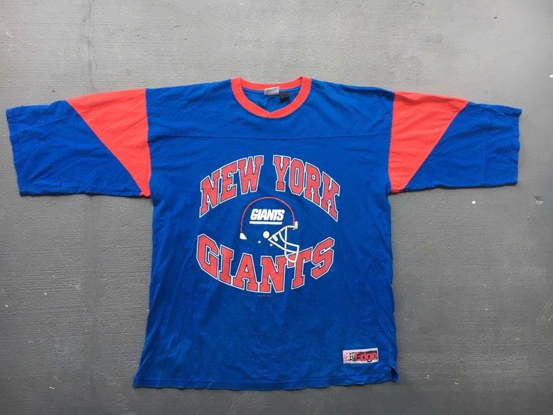 hot sales 45099 ad60b New York Giants vintage 1996 3/4 sleeve shirt - size XL