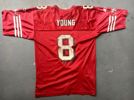 9b88aae66 Steve Young 1998 San Francisco 49ers vintage Starter jersey