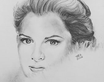 Custom Portrait  - Drawing From Your Photo - Single Subject - A Unique Gift