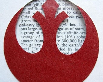 2776223e8c On Sale - Star Wars Rebel Alliance Insignia - Custom Cut Bookmark