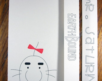 EarthBound Mr. Saturn - Mini Motif Notebook