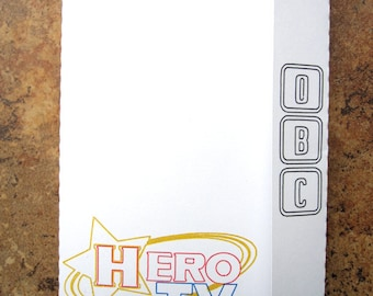 Tiger & Bunny Hero TV Logo - Mini Motif Notebook