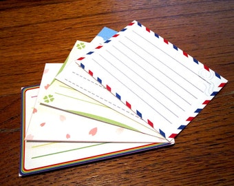 Animal Crossing Stationery Notecards - Bright Set, 10 cards per set