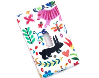 Whimsical Nature Viva Mexico Light Switch Plate Cover