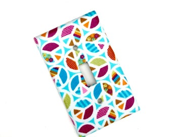 Peace Sign Light Switch Plate Cover