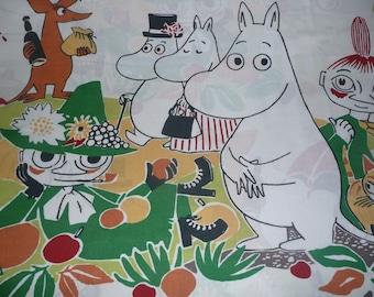 Moomin fabric Park Moomin, Snufkin Moomintroll Moominmamma