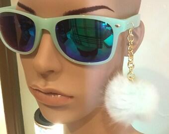 0c3298cb14 Tiffany Green Sunglasses with Charm