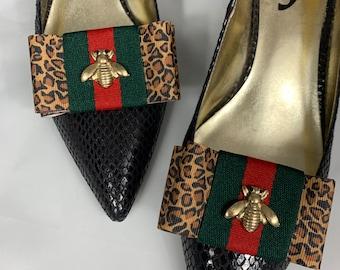 c0fcbafa7c3 Gucci Inspired Shoe Clips
