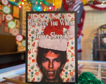 Nightstalker Christmas Card Richard Ramirez serial killer