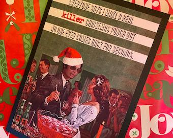 Jim Jones Christmas card cult mass murder poison