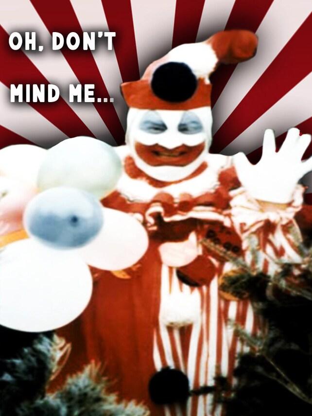 John Wayne Gacy Pogo the Clown Valentine Card | Etsy