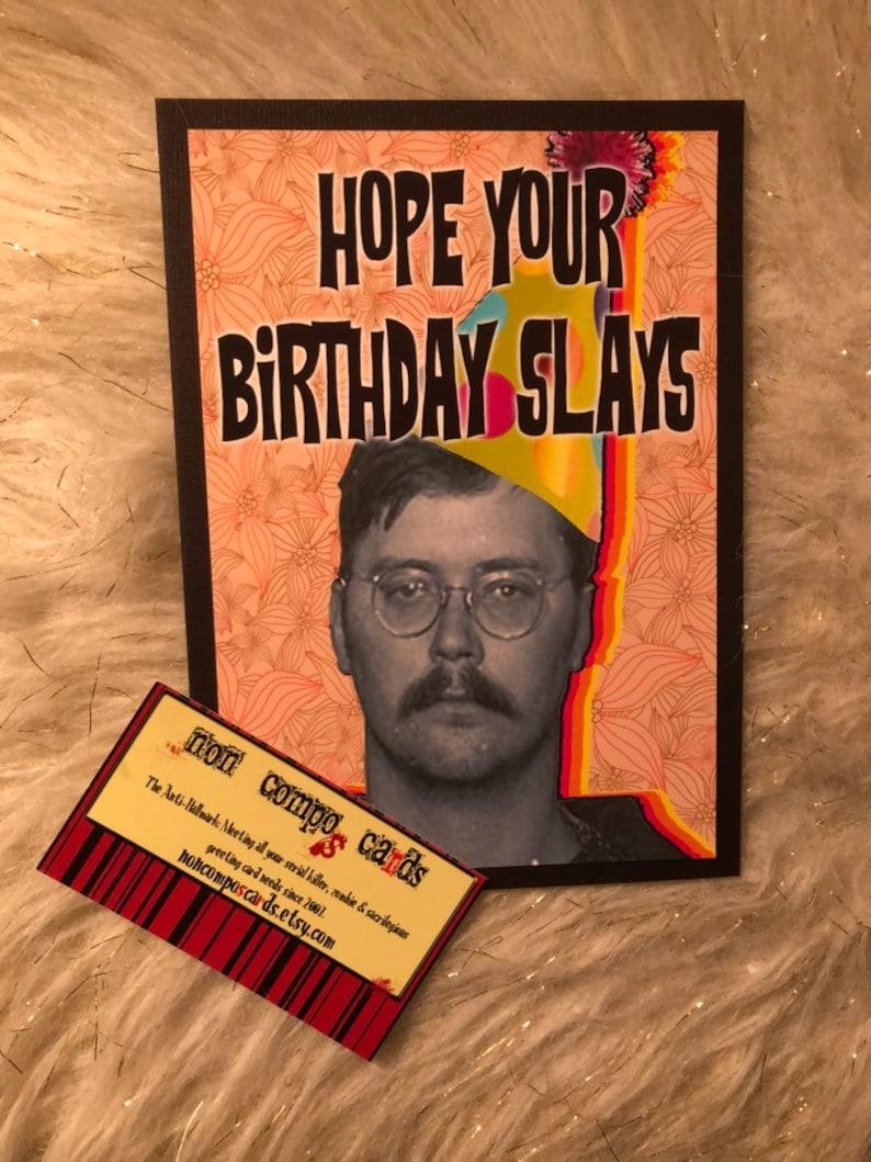 Ed Kemper Birthday Card serial killer true crime