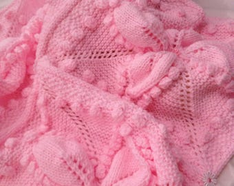 CANDY FLOSS baby blanket