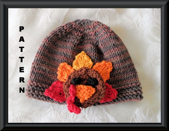 Knitted Hat Pattern Baby Hat Pattern Instant Download Hat Etsy