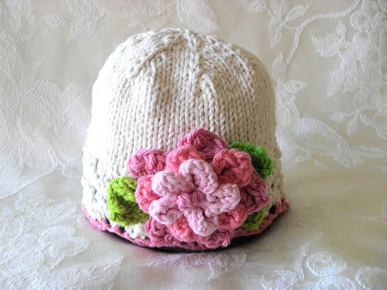 dbc63829a33 Baby Hats Knit Baby Hat Knitting Knitted Baby Cloche baby girl