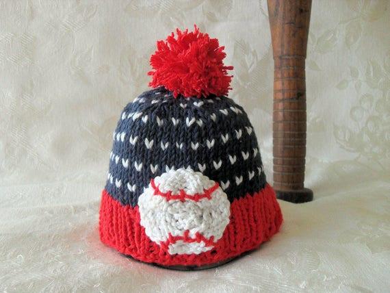Baby Mütze Stricken Stricken Baby Hut gestrickt Baby Beanie