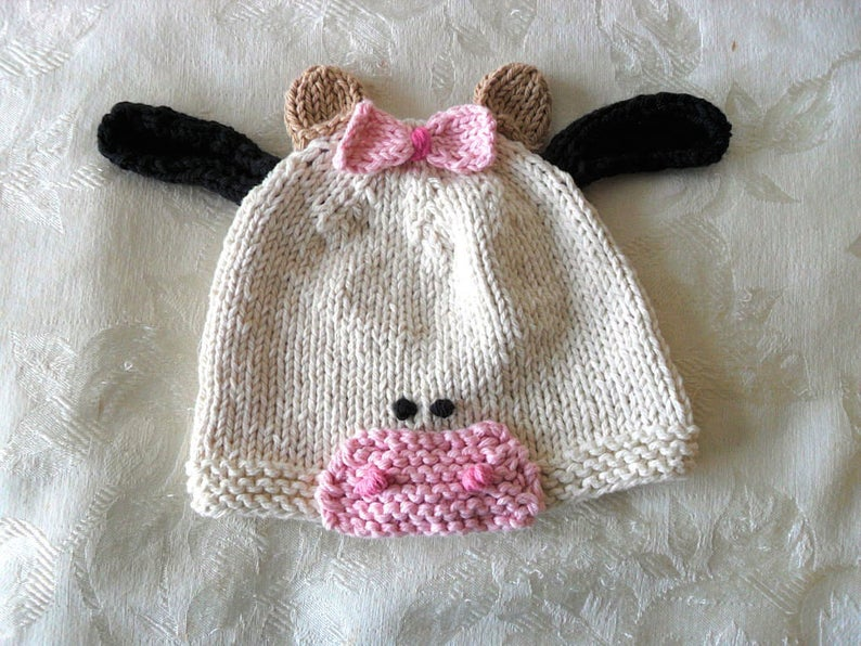bdbae05e969 Baby Hats Knitting Knit Baby Hat Hand Knitted Baby Hat Knitted