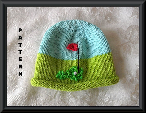 Knitted Hat Pattern Baby Hat Pattern Infant Hat Pattern Etsy