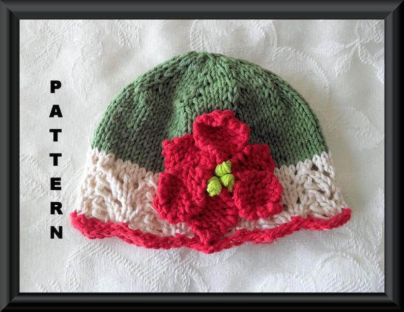 97bb0592b31 Knitted Hat Patterns Baby Hat Patterns Newborn Hat Pattern