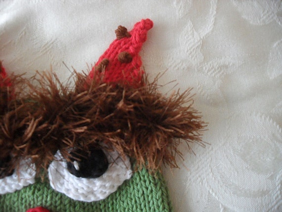 Knitted Hat Pattern Baby Hat Pattern Ogre Hat Pattern Etsy