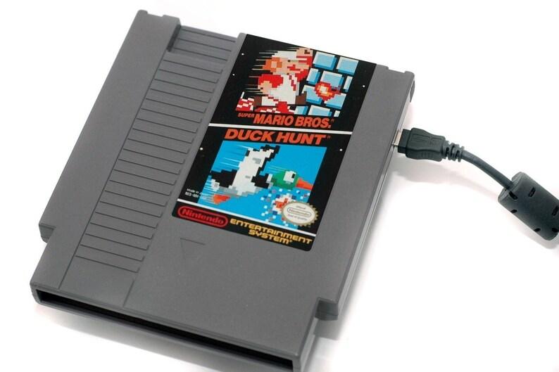 NES Hard Drive   Super Mario Bros-Duck Hunt  USB 3.0 image 0