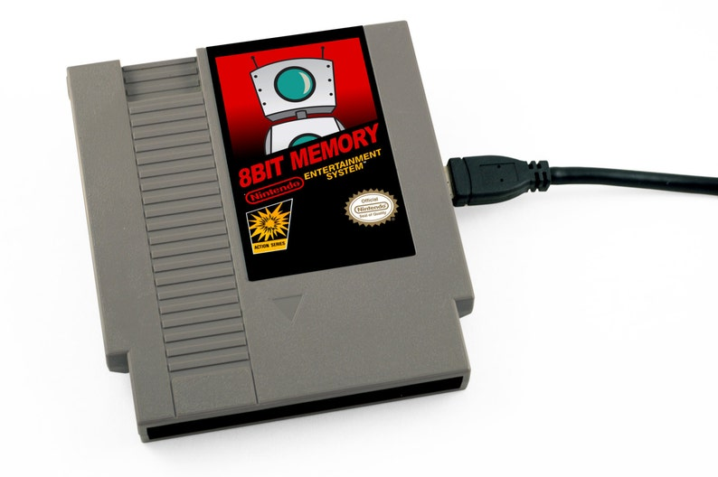 Custom Label NES Hard Drive  Your Custom Label Any image image 0