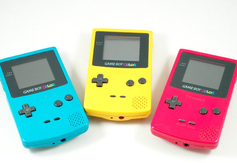 Game Boy Color Hard Drive Choose your color