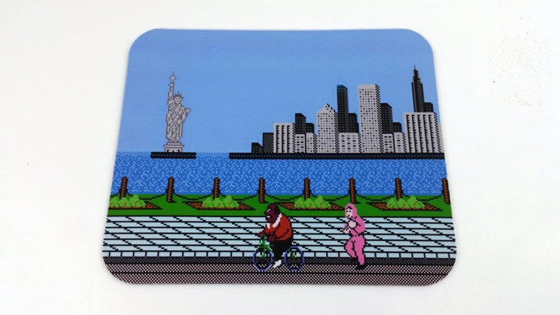 NES Mouse Pad  Mike Tyson's Punch Out image 0
