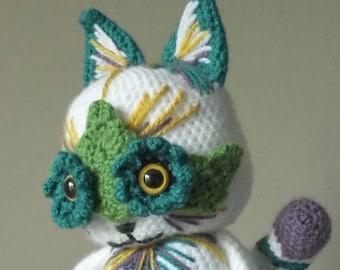 Louis Wain Cat - Amigurumi Crochet Pattern
