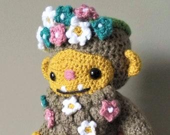 Littlefoot the Sasquatch - Amigurumi Bigfoot Crochet Pattern
