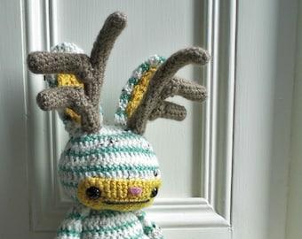 Sunny the Jackalope - Amigurumi Crochet Pattern