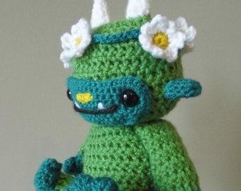 Daisy the Forest Monster - amigurumi crochet pattern