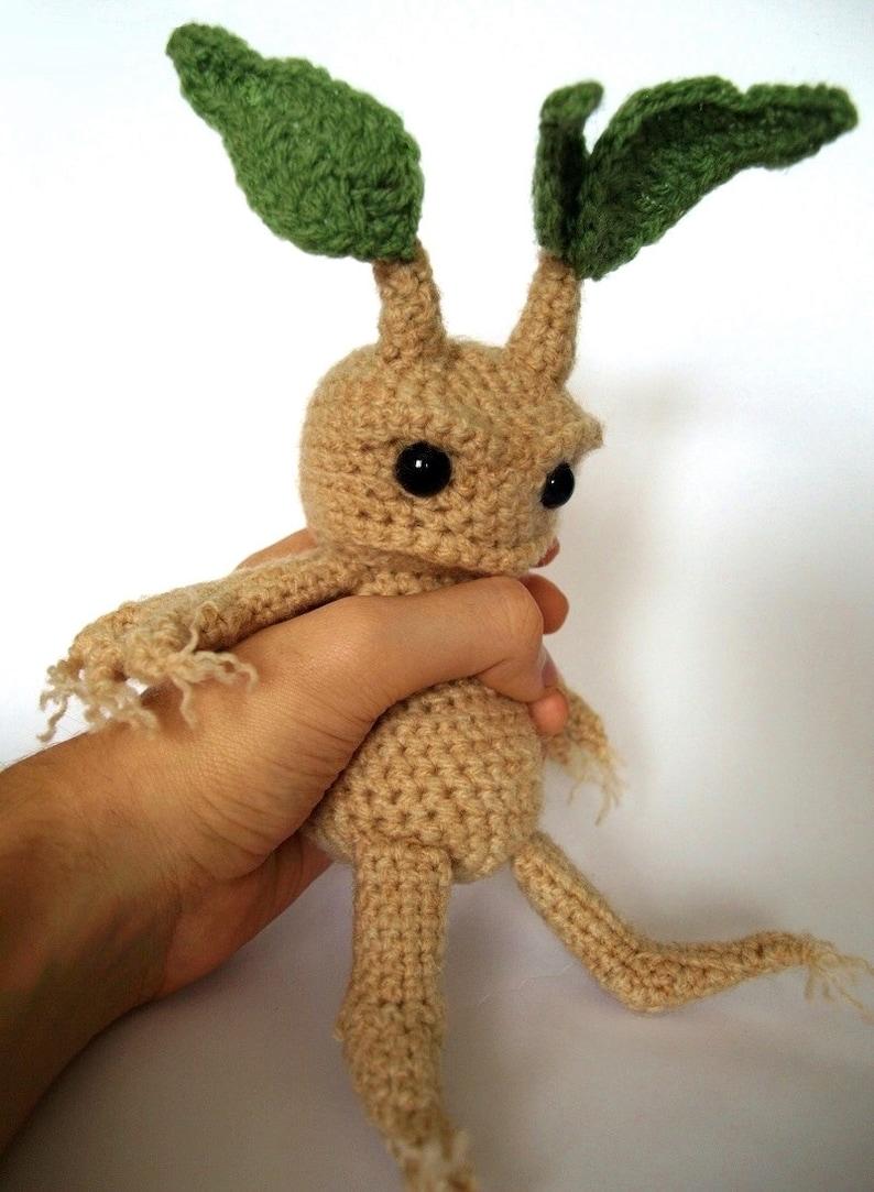 Mandrake  Amigurumi Crochet Pattern image 0