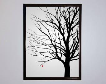 Lone Tree Digital Print