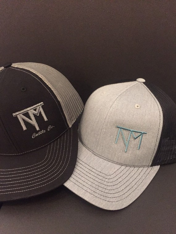 c89f5c98f51 SET OF 4 Custom Branded Hats Ranch Caps Embroidered