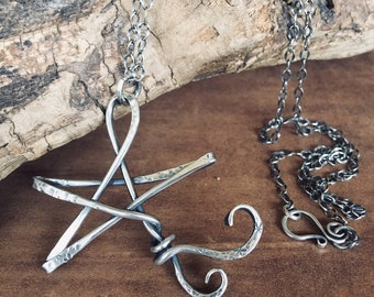 Shooting Star Sterling Silver Pendant