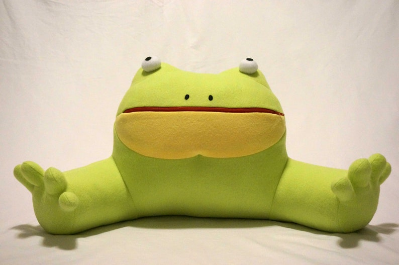 Get Out Frog Plush Pillow Frogout Internet Meme Goon Etsy