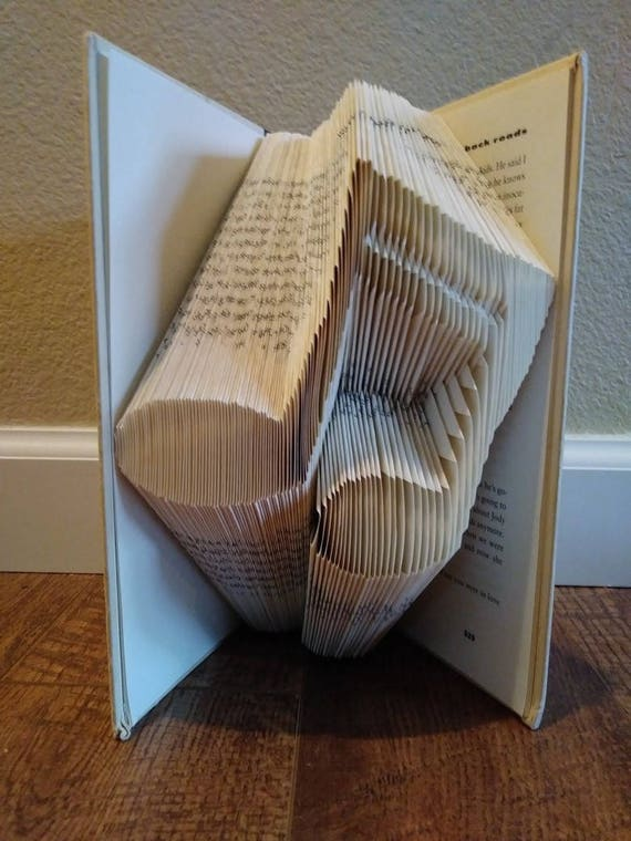 Music Notes Folded Book
