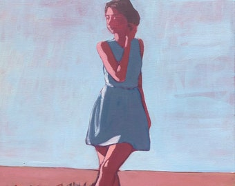 """Woman in Field #6  