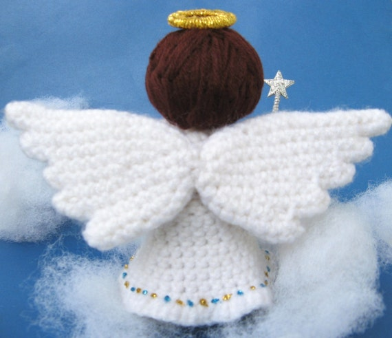 Amigurumi Angel Crochet Pattern Pdf Christmas Tree Decor Etsy